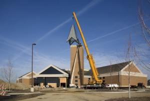 General liability insurance for churches - A church building under construction