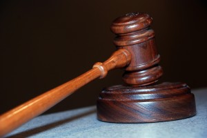 umbrella liability insurance - picture of a gavel
