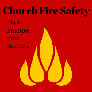 Fire prevention week, church safety, fire safety, risk management for churches, church safety